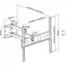 Наклонно-поворотный кронштейн iTech PTRB4ES